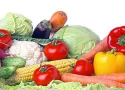 Овощи для здоровья кожи